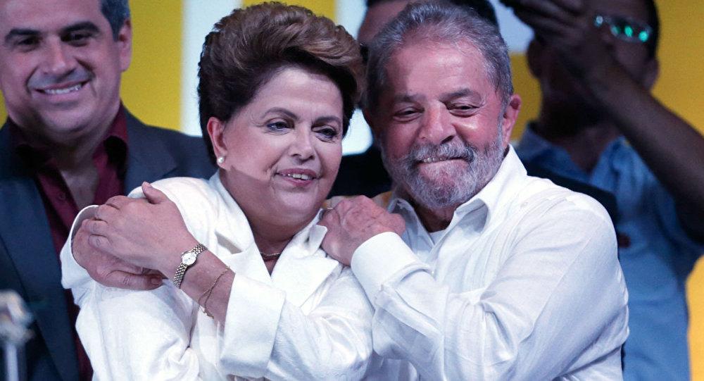 Dilma Rousseff - Lula da Silva