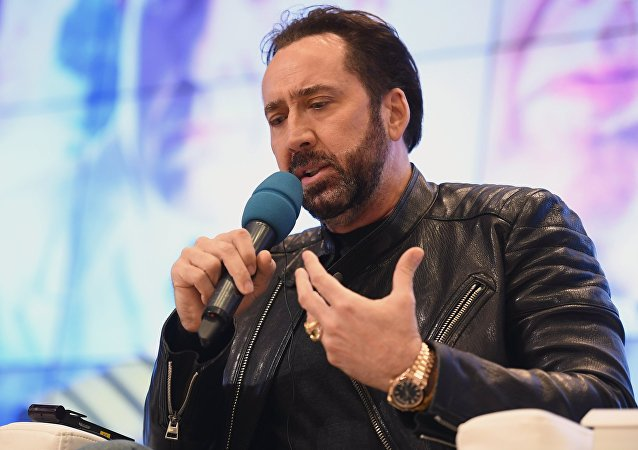 ABD'li oyuncu Nicolas Cage