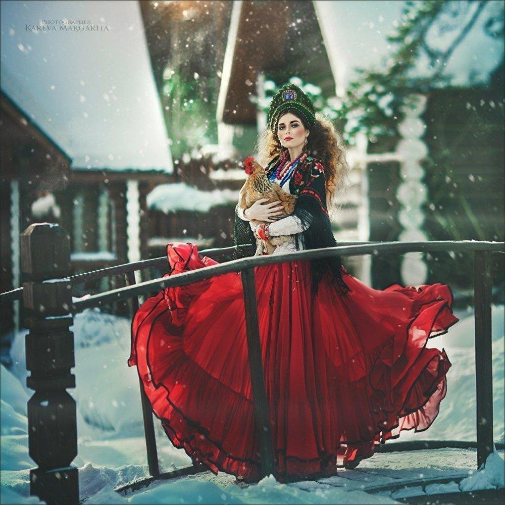 Rus güzeller peri masallarının güzellerine dönüştü