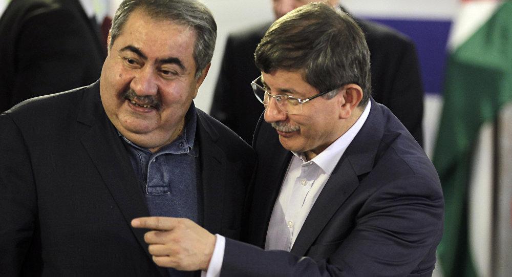 Hoşyar Zebari - Ahmet Davutoğlu