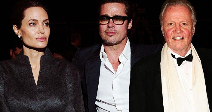 Angelina Jolie - Brad Pitt - Jon Voight