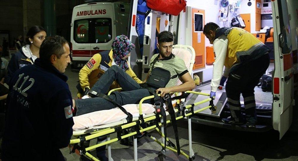 Yaralı 62 Peşmerge tedavi için Türkiye'ye getirildi