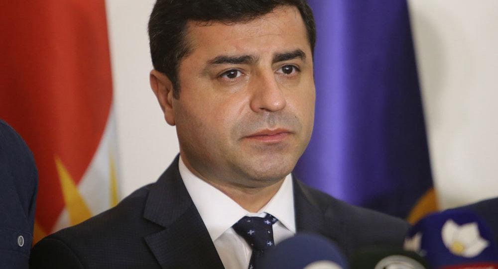 HDP Eş Genel Başkanı Selahattin Demirtaş ve beraberindeki heyetin IKBY temasları