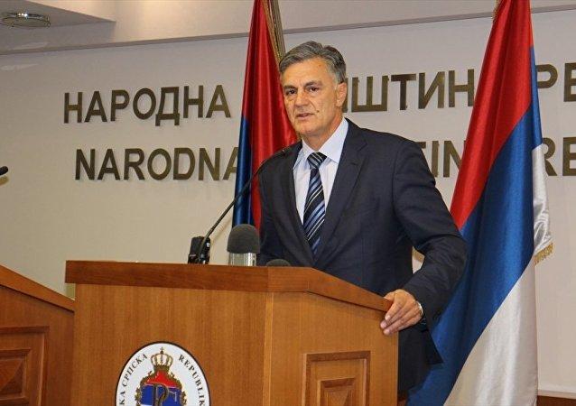 Sırp Cumhuriyeti Referandumu Düzenleme Komisyonu Başkanı Sinisa Karan