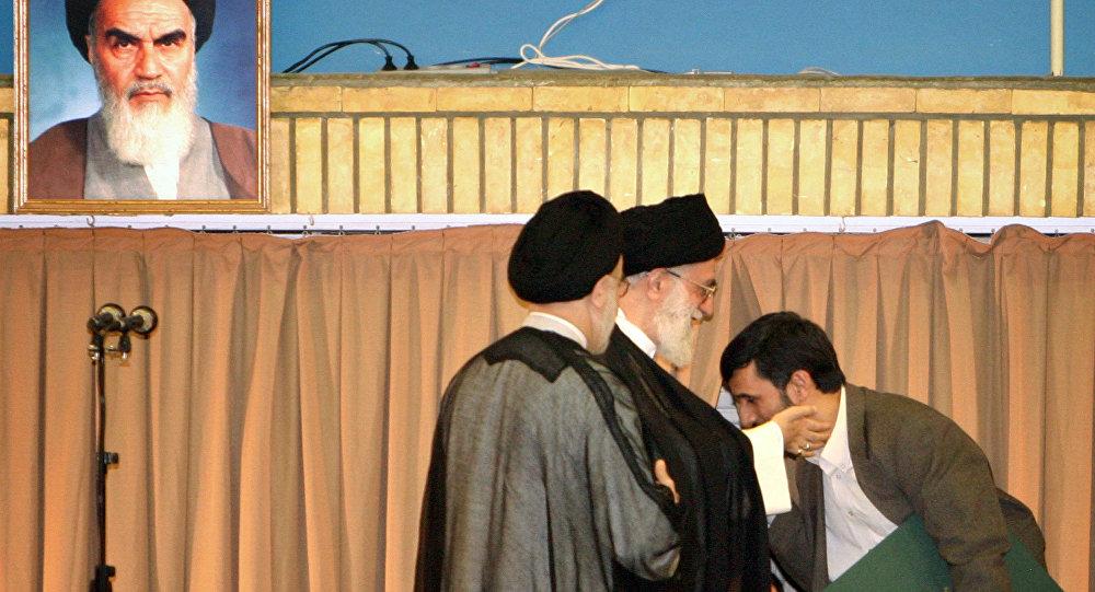 Ayetullah Hamaney - Mahmud Ahmedinejad