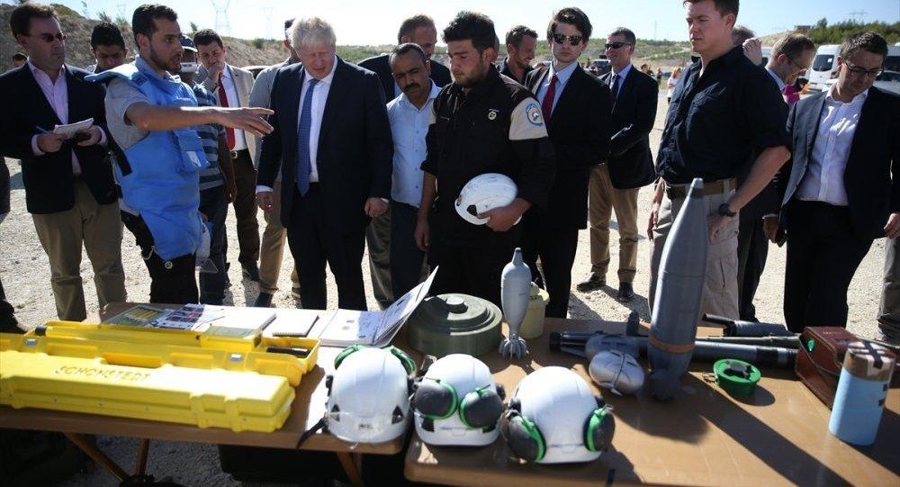 İngiltere Dışişleri Bakanı Boris Johnson-Gaziantep