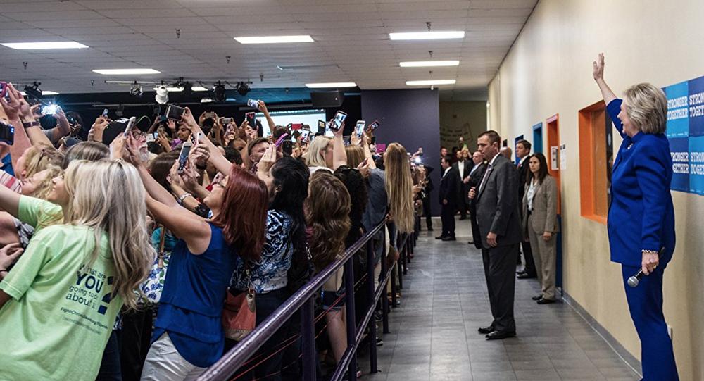 ABD başkanlık yarışının Demokrat adayı Hillary Clinton