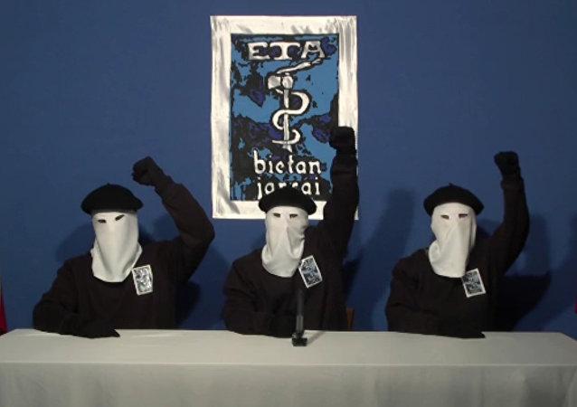 Bask Ülkesi'nin bağımsızlığı için savaşan silahlı örgüt ETA