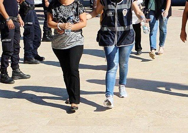 Gözaltı - tutuklama - kadın