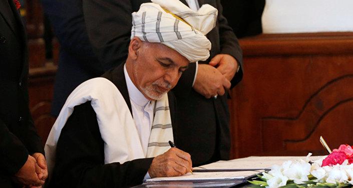 Afganistan Devlet Başkanı Eşref Gani