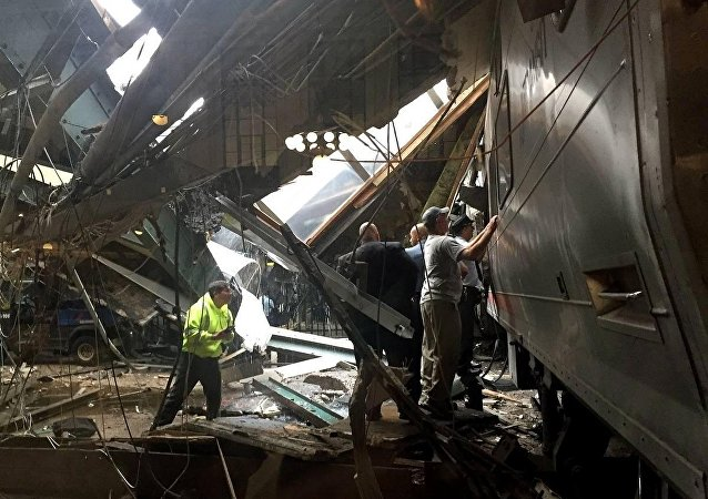 Hoboken Tren İstasyonu - New Jersey - ABD