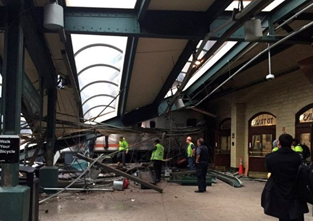 ABD, New Jersey tren kazası