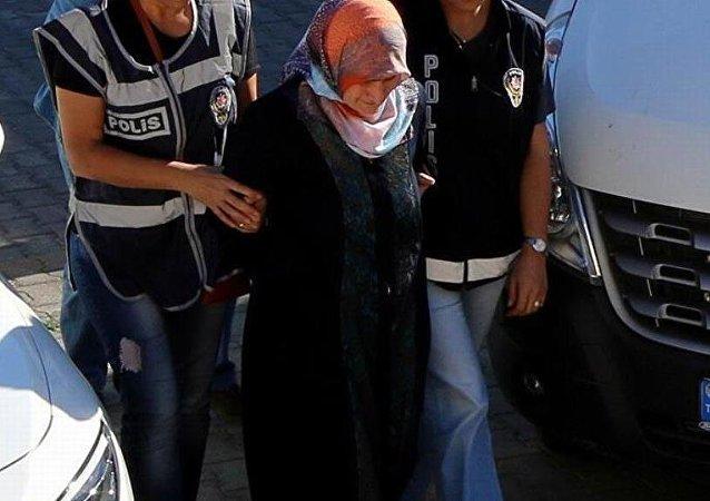 Fethullah Gülen'in kardeşinin çocuğu olduğu belirtilen Emine Akay