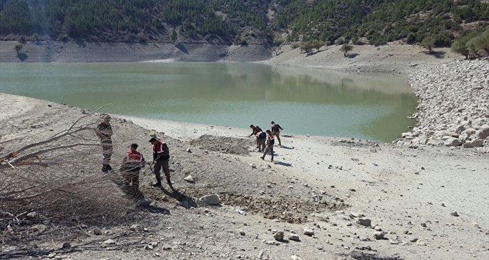 Isparta'da baraj yakınında G3 mermisi bulundu