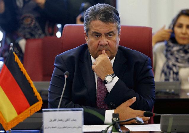 Almanya Ekonomi Bakanı ve Başbakan Yardımcısı Simon Gabriel
