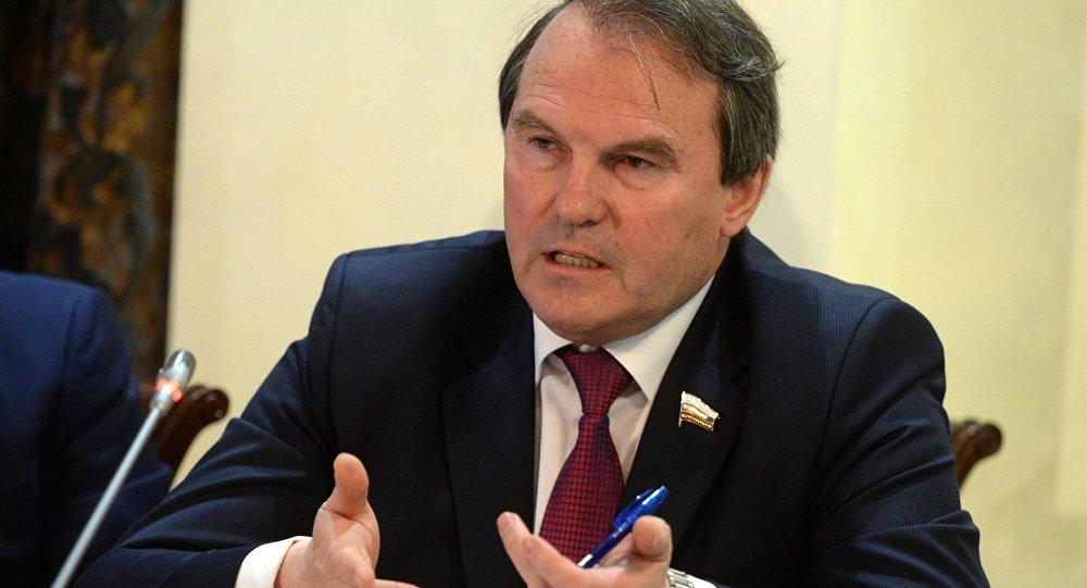 Rusya Federasyon Konseyi Dış İlişkiler Komisyonu üyesi İgor Morozov