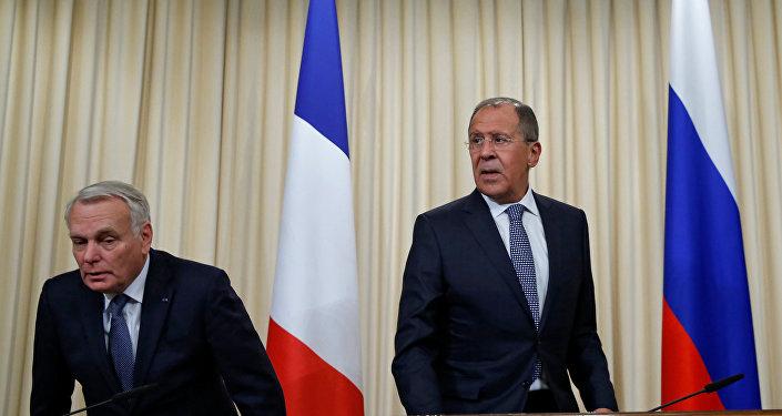 Sergey Lavrov - Jean-Marc Ayrault