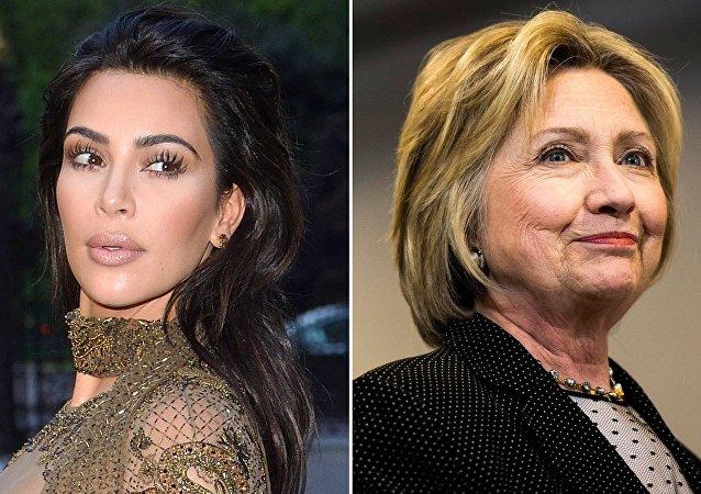 Hillary Clinton - Kim Kardashian