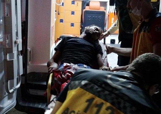 Yaralı 22 ÖSO'lu Kilis'e getirildi