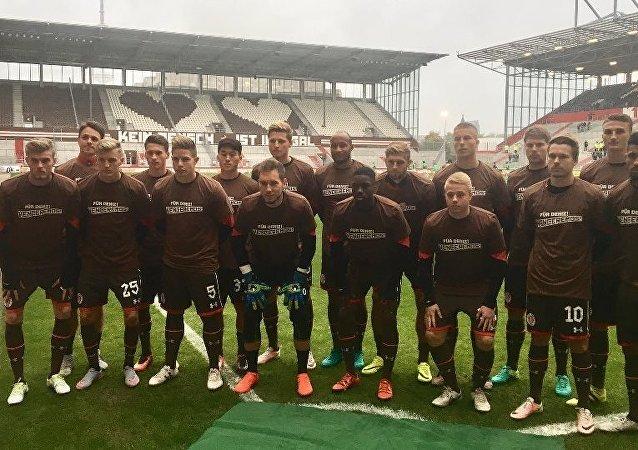 Hakkında dava açılan Amedsporlu Naki'ye eski takımı St. Pauli'den destek