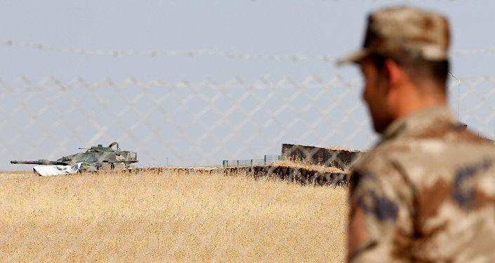 Türk askerlerinin de eğitim verdiği Irak'ın Musul kentine bağlı Başika'daki Zalikan Kampı