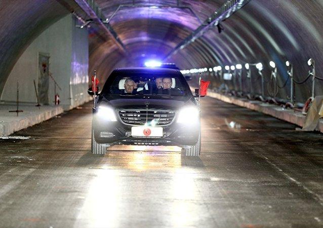 Avrasya Tüneli / Recep Tayyip Erdoğan - Binali Yıldırım