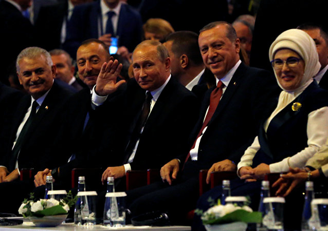 Dünya Enerji Kongresi- Rusya Devlet Başkanı Vladimir Putin- Türkiye Cumhurbaşkanı Recep Tayyip Erdoğan