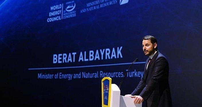 Enerji ve Tabii Kaynaklar Bakanı Albayrak