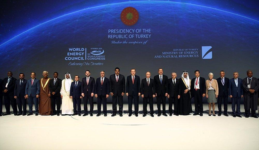 23. Dünya Enerji Kongresi aile fotoğrafı