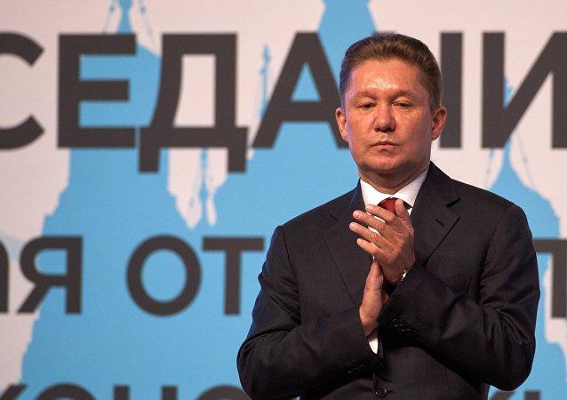 Gazprom Başkanı Aleksey Miller