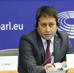 Avrupa Parlamentosu (AP) İnsan Hakkları Alt Komitesinde Türkiye'deki hukukun üstünlüğü görüşüldü. Toplantıya katılan AB Bakan Yardımcısı Ali Şahin (fotoğrafta) bir konuşma yaptı.