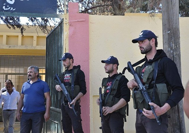 ÖSO'ya Türk polisi şapkası