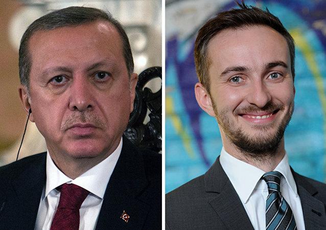 Cumhurbaşkanı Erdoğan ve Alman komedyen Jan Böhmermann