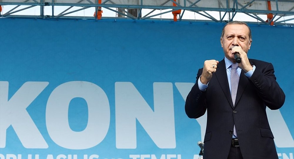 Cumhurbaşkanı Recep Tayyip Erdoğan, Konya'da Kılıçarslan Kent Meydanı'nda düzenlenen toplu açılış törenine katılarak vatandaşlara hitap etti.