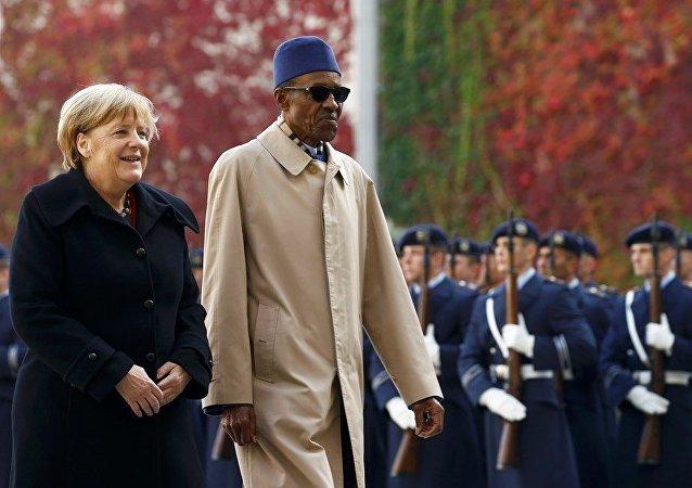 Angela Merkel - Muhammed Buhari