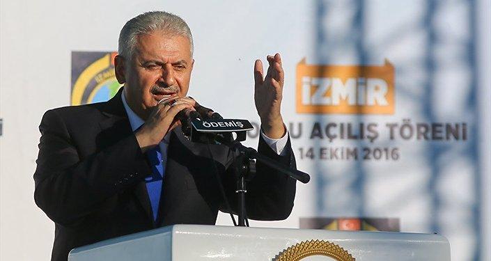 Başbakan Binali Yıldırım, İzmir'in Ödemiş ilçesinde toplu açılış törenine katılarak konuşma yaptı.