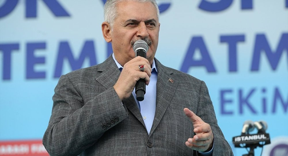 Binali Yıldırım İstanbul Finans Merkezi'nin temel atma töreninde konuştu