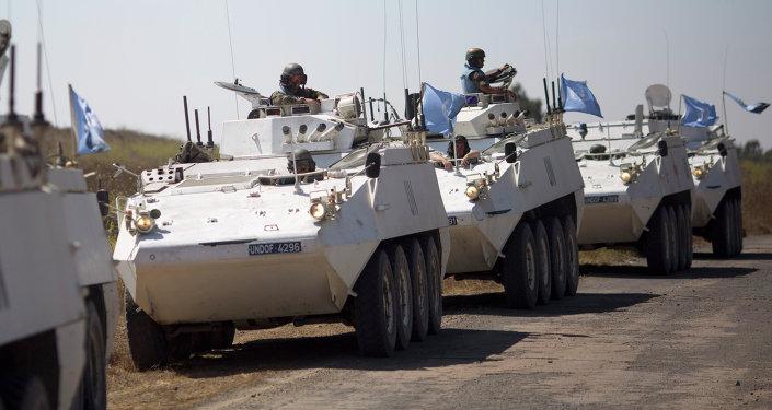 BM barış güçlerine ait zırhlı birlikler