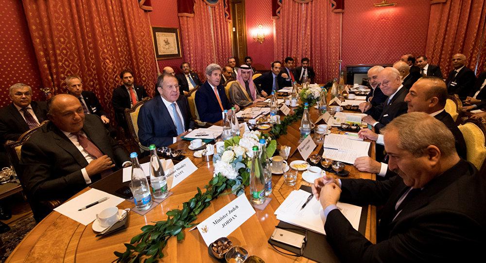 Lozan'daki Suriye toplantısı