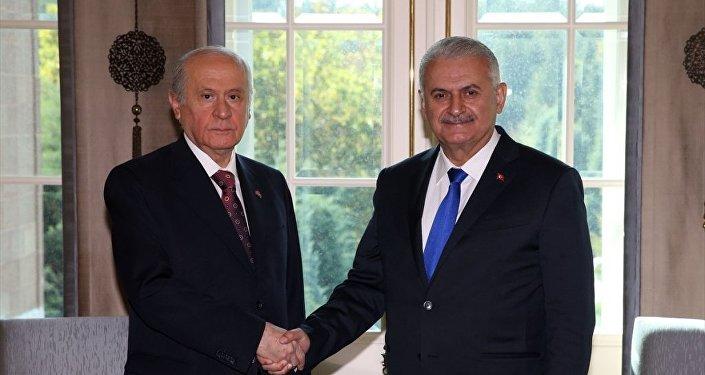 Başbakan Binali Yıldırım - MHP Genel Başkanı Devlet Bahçeli