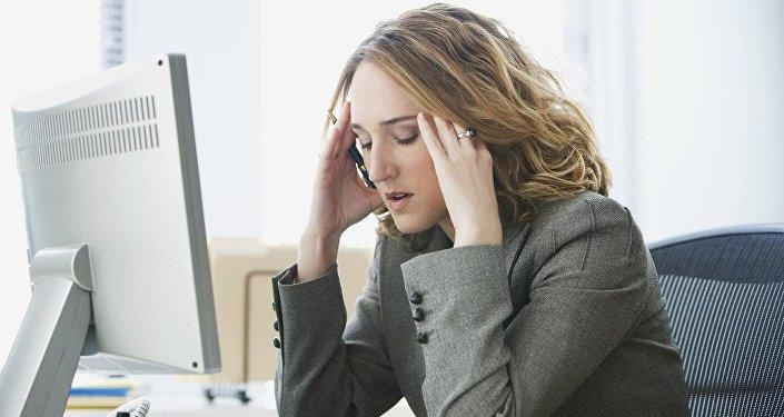 stres - çalışma - buro
