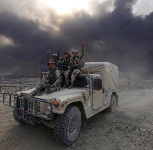 Musul operasyonuna katılan Iraklı güçler