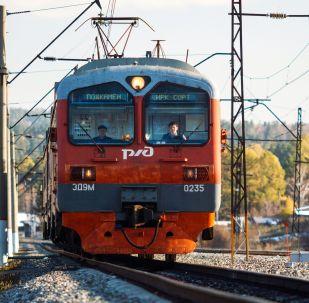 Doğu Sibirya Demiryolu.