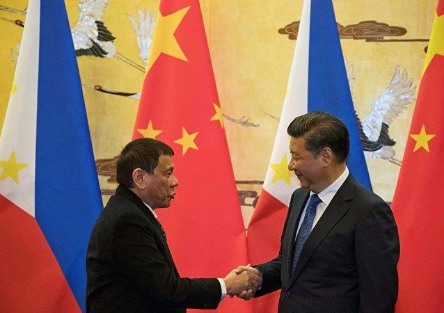 Şi Cinping - Rodrigo Duterte