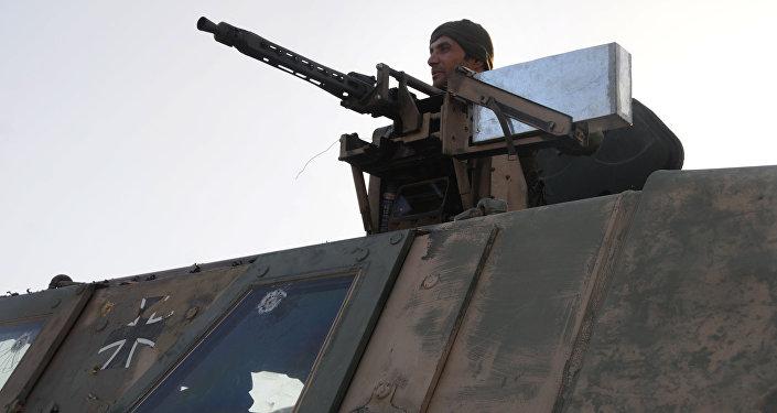 Musul operasyonu - Peşmerge