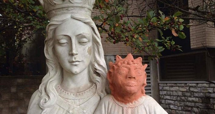 Kanada İsa heykeli
