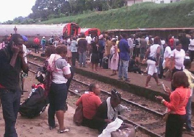Kamerun tren kazası