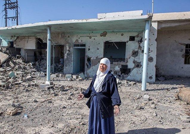 IŞİD'in Musul'da yıktığı evler