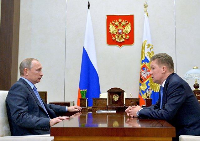 Vladimir Putin - Aleksey Miller
