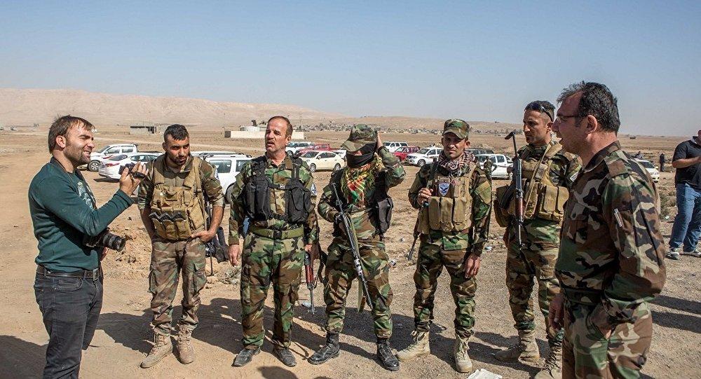 Peşmerge içindeki Suryani savaşçılar, Musul operasyonun'da